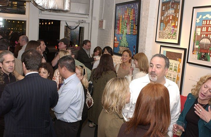 Art Show @ Trunkt Gallery in Tribeca