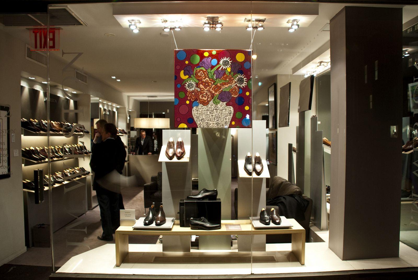 Art Show @ J.M. Weston on Madison Avenue