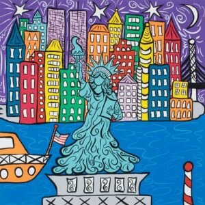 Lady Liberty Serigraph