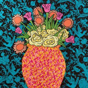 Rosa Mexicano Print