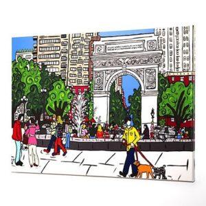 Washington Square Print