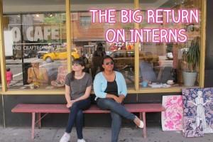The Big Return on Interns