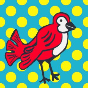 Early Birds (Dots) Print Set