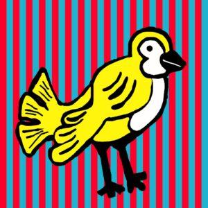 Early Birds (Stripes) Print Set