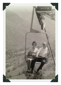 My Grandparents on their honeymoon