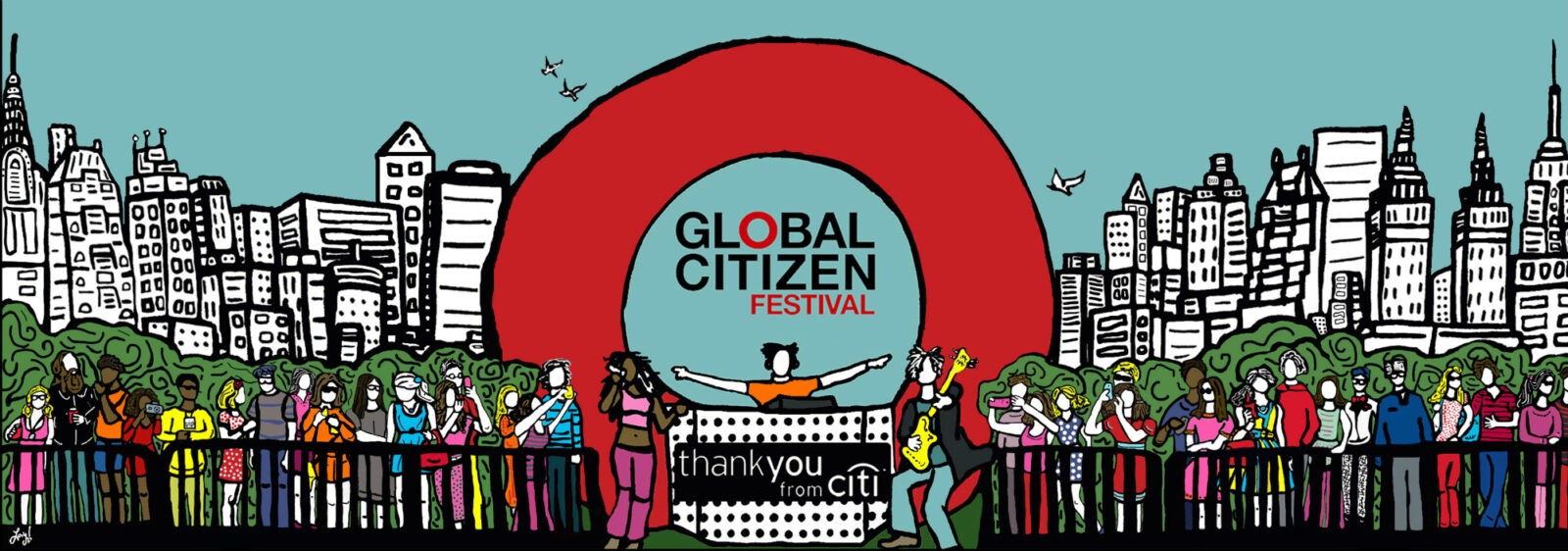 Global Citizen Concert 2015 NYC