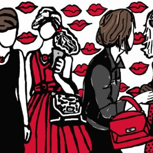Gossip Girls Print