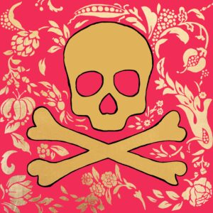 Jolly Roger (French Rose) Print