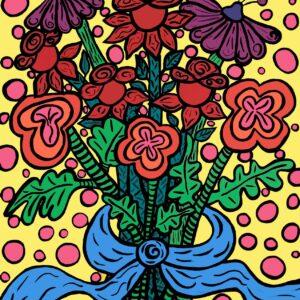 Picasso's Bouquet Print