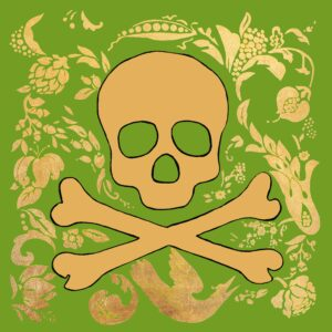 Jolly Roger (Sage) Print