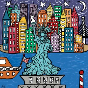 Lady Liberty Classic Print