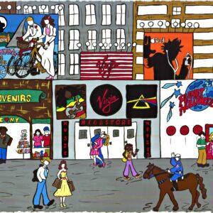 Times Square & Broadway Print
