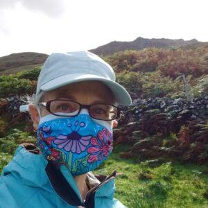 Flower Garden Mask