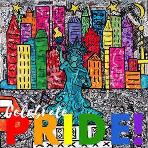 Lady Liberty Pride Print