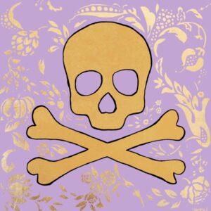 Jolly Roger (Lavender) Print