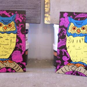 Frida and Diego Original Paintings