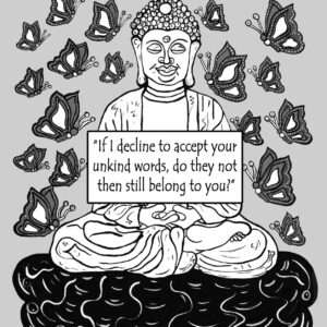 Critically Acclaimed Buddha Print