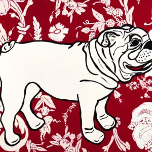 Georgia the Bulldog Print
