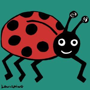 Lady Bug Classic Print