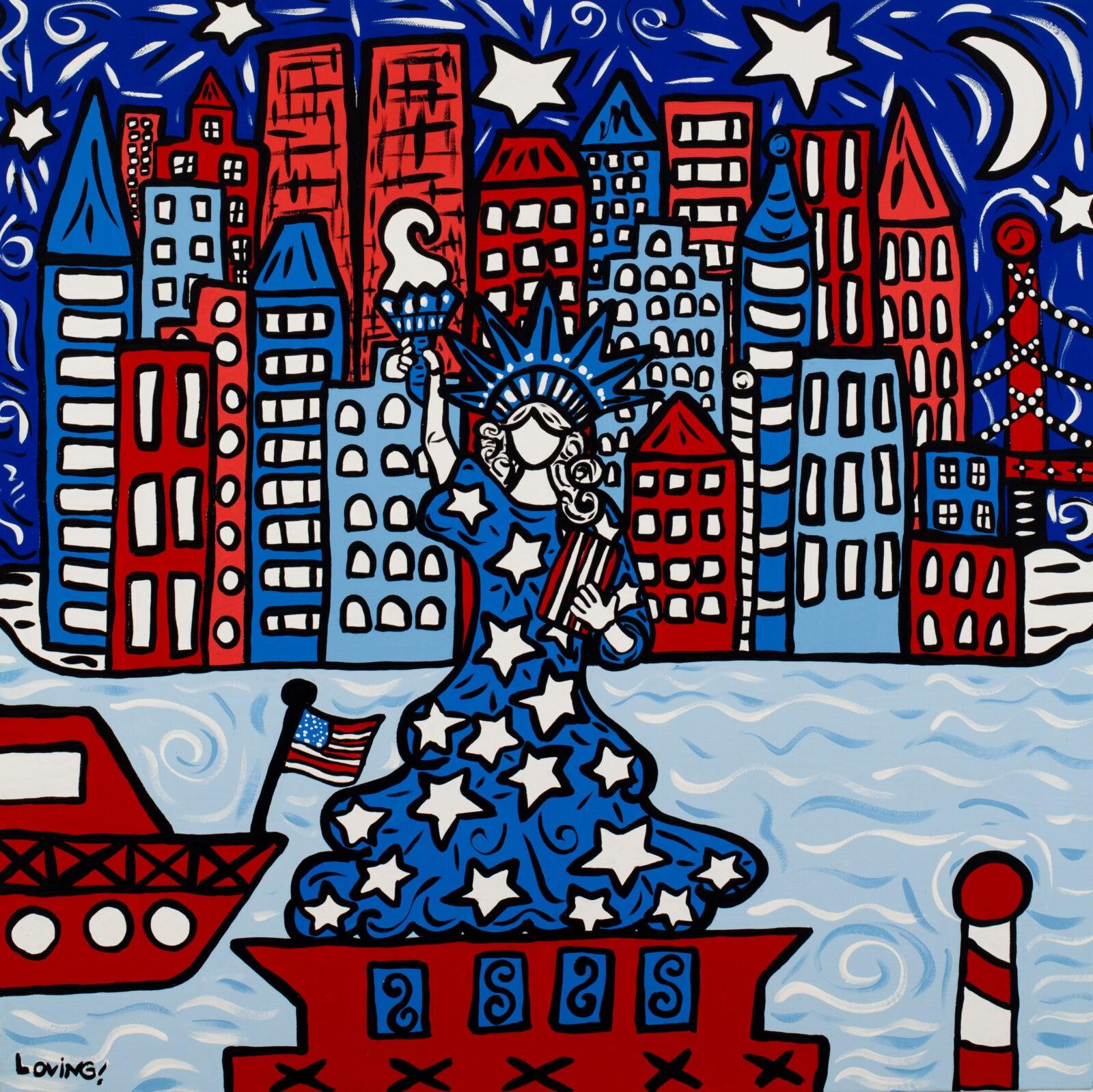 Miss America Print