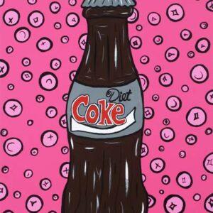 Diet Coke (Pink) Print