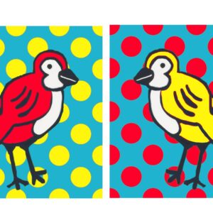 Early Birds (Dots) Print Set