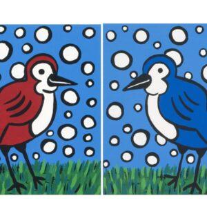 Free Birds Print Set